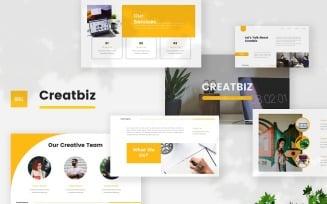 Creatbiz - Creative Business Google Slides Template