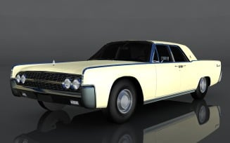 Lincoln Continental 3D Model
