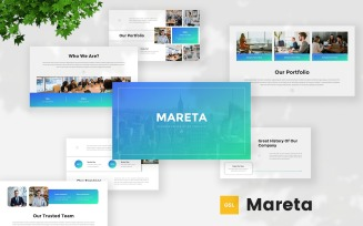 Mareta - Business Google Slides Template