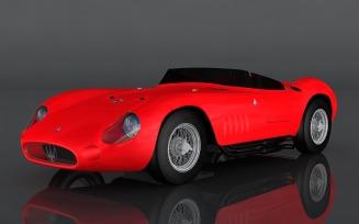 Maserati 300 S 3D Model
