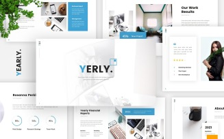 Yerly - Annual Report Google Slides