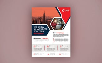 Creative Agency Flyer Design