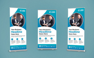 Creative Business Roll Up Banner Design