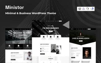 Ministor - Minimal and Business Responsive WordPress Theme