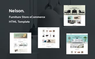 Nelson - Furniture Store eCommerce Website Template