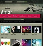 Website: Art & Photography CSS Web 2.0 Templates
