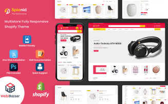 Splenid - Multipurpose Responsive Shopify Template