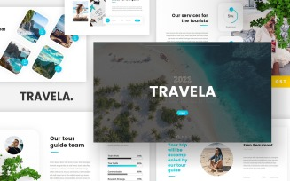 Travela - Travel Tourism Google Slides
