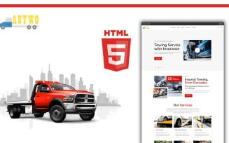 Autow - Autow Towing HTML Website Template