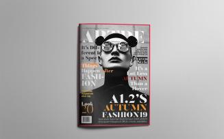 Fashion Magazine Layout#A12