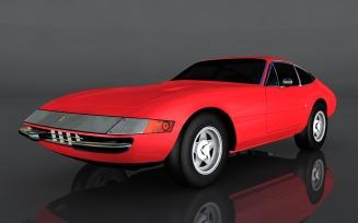 Ferrari 365 GTB 3D Model