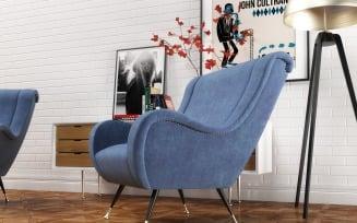 Giardino Furniture set 3D Model