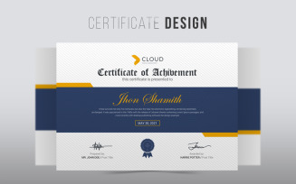 Jhon Shamith | Creative Certificate Template