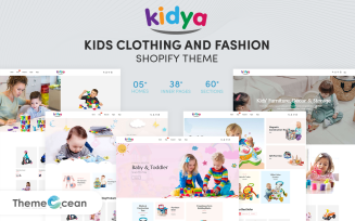 Kidya - Kids Clothing & Fashion Shopify Theme