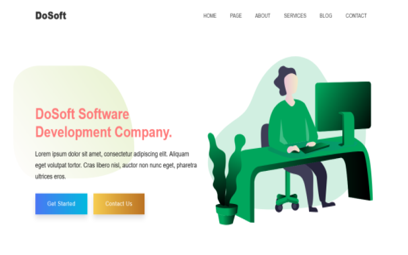 DoSoft - Startup, App, Technology & Software Bootstrap5 Template