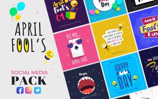 April Fool's Day Pack Social Media