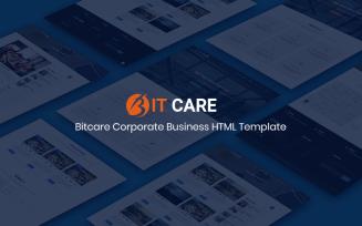Bitcare - Corporate Business HTML Website Template