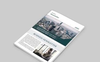 Business Magazine Design Template