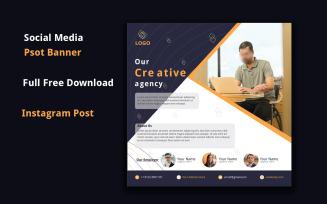 Free Business Social media post Template Design | Flyer Design
