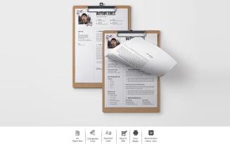 Free Watson Jones – Clean CV Design for a Web Developer Printable Resume Templates