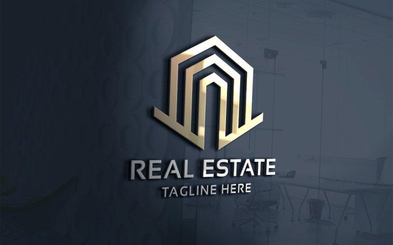 Residence Real Estate Logo sjabloon