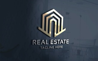 Residence Real Estate Logo template