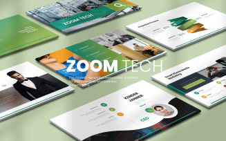 Zoom Tech Google Slide Templates