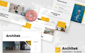 Architek - Architecture Google Slides Template