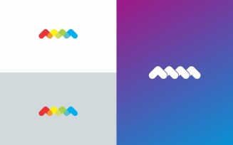 MM Logo Symbol Design Template