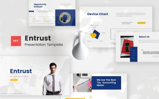 Entrust - Tax Accounting Powerpoint Template