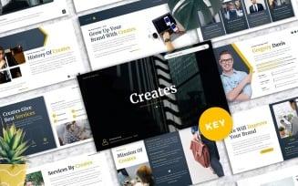 Creates - Business Keynote