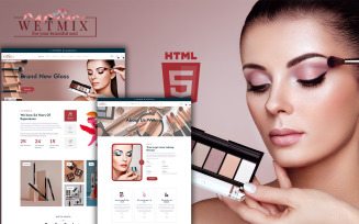 Wetmix - Cosmetic Shop HTML Template