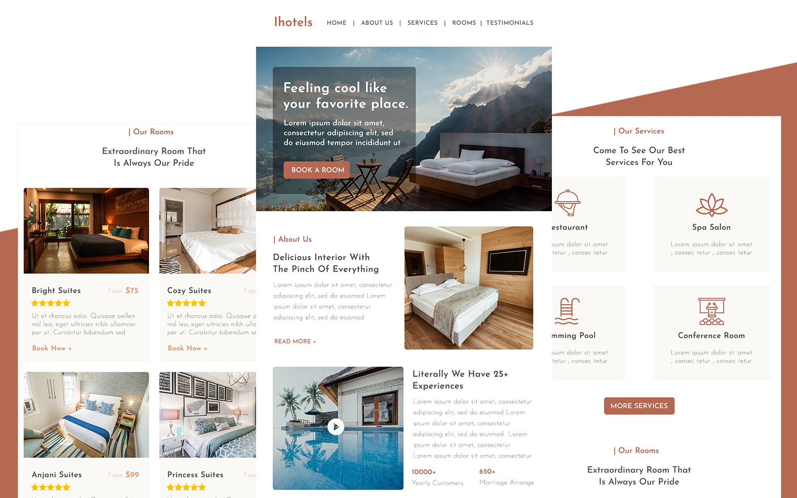 IHotels – Multipurpose Hotels Responsive Email Newsletter Template