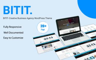 BITIT- Creative Business Agency Elementor WordPress Theme