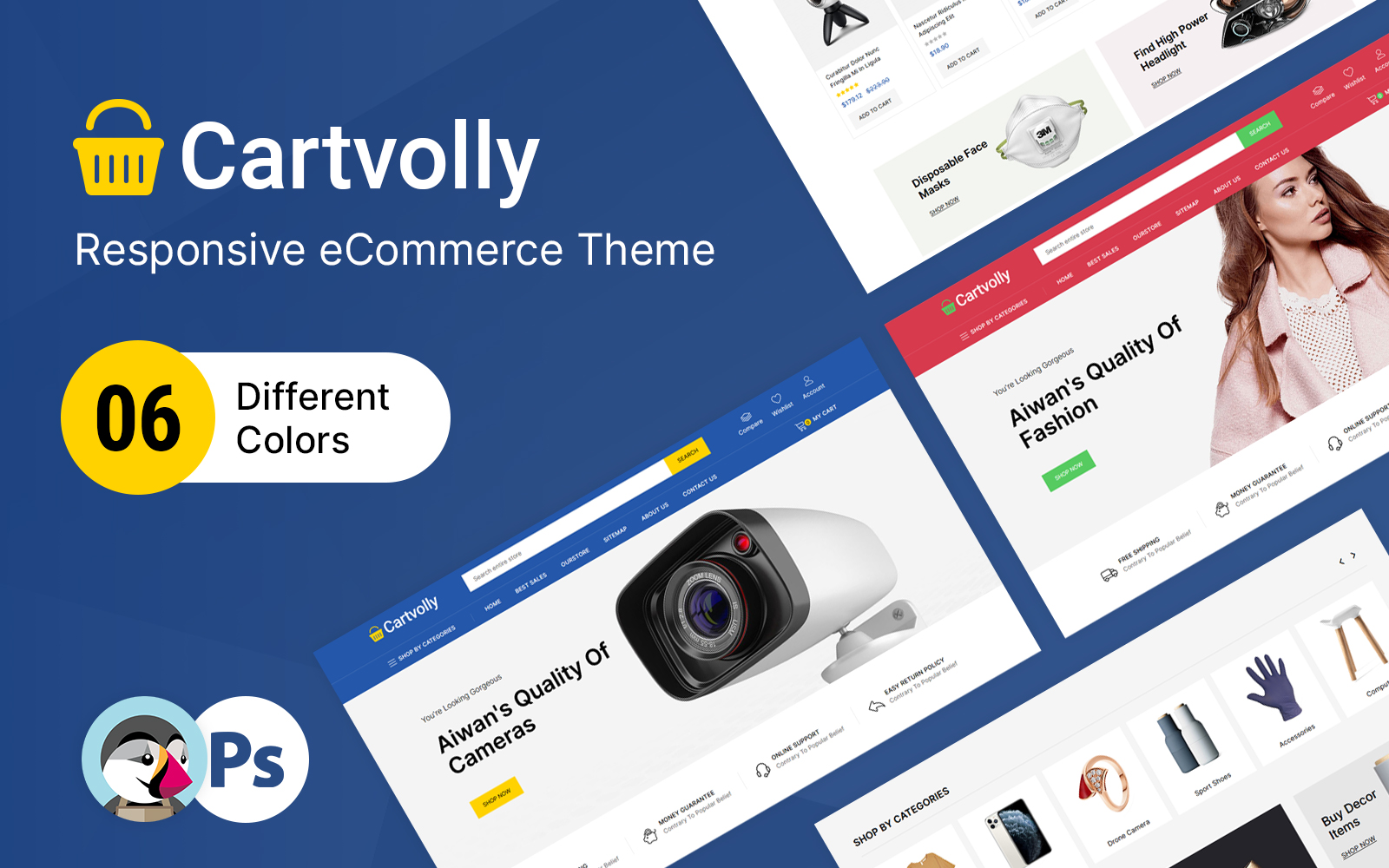 Cartvolly - Mega Store Prestashop-thema