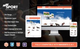 Sport - Multipurpose Responsive Magento 2 Theme