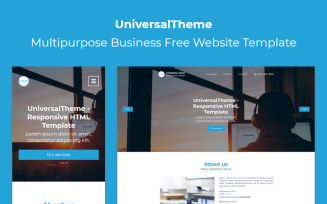 UniversalTheme - Multipurpose Business Free Landing Page Template