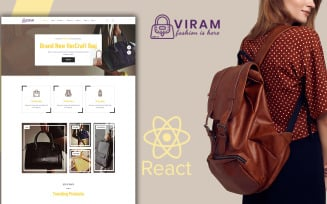 Viram - Bag Shop React Website Template