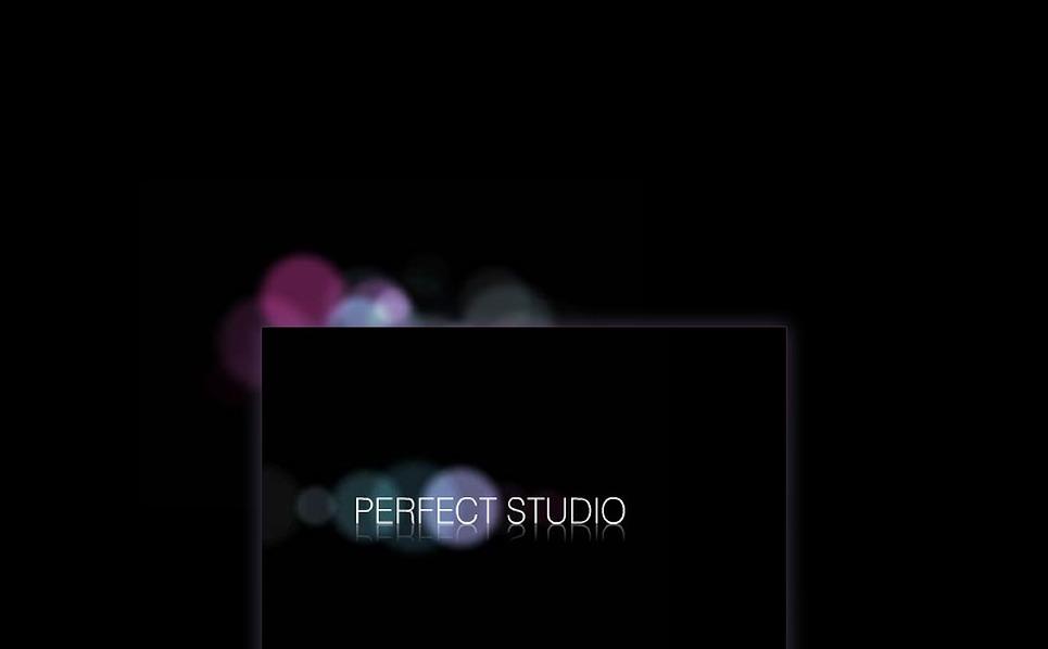 Flash Intro Vorlage für Designstudio  New Screenshots BIG
