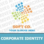 Software Corporate Identity Template 18022