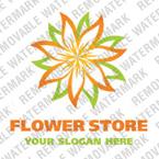 Flowers Logo  Template 18040