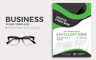 Free Business flyer template Design
