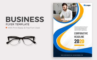 Free Corporate Flyer for business and advertising