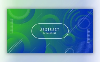 Modern Abstract Blue and Green Background