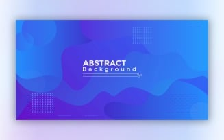 Modern Abstract Blue Background 1