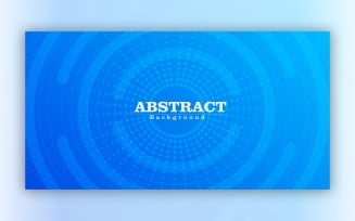 Modern Abstract Blue Background 2