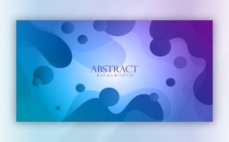 Modern Abstract blue Background 5