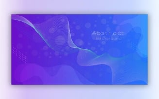 Modern Abstract Blue Background