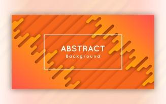 Modern Abstract Orange Background