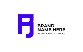 Letter BR Logo - Sans Serif Logo template